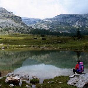 Attivit? d'estate al lago di Molveno
